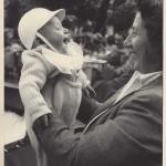 1950 - Paolo Rampini con la mamma