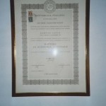1975 - Diploma di laurea in Economia Aziendale