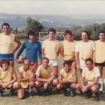 1980 - Paolo Rampini con la squadra di calcio