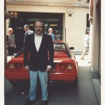 1988 - Paolo Rampini al raduno Ferrari