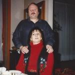 1995 - Paolo Rampini con la moglie Stefania