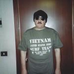 2011 - Paolo Rampini con la maglia Vietnam, United States Army, Surf Team