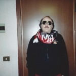 2012 - Paolo Rampini con sciarpa del Milan