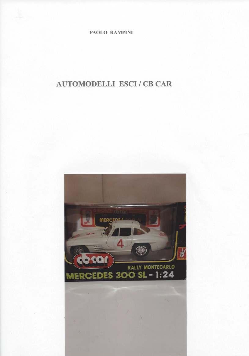 Automodelli ESCI / CB Car, Paolo Rampini, 2017 - libro digitale scaricabile
