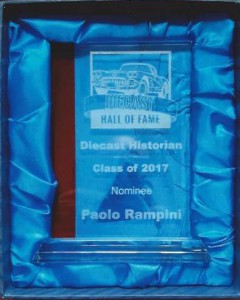Diecast Hall Of Fame   Diecast Historian   Class of 2017   Nominee   Paolo Rampini