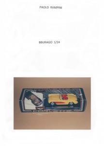 BBURAGO 1:24, Edizioni Paolo Rampini, 2014