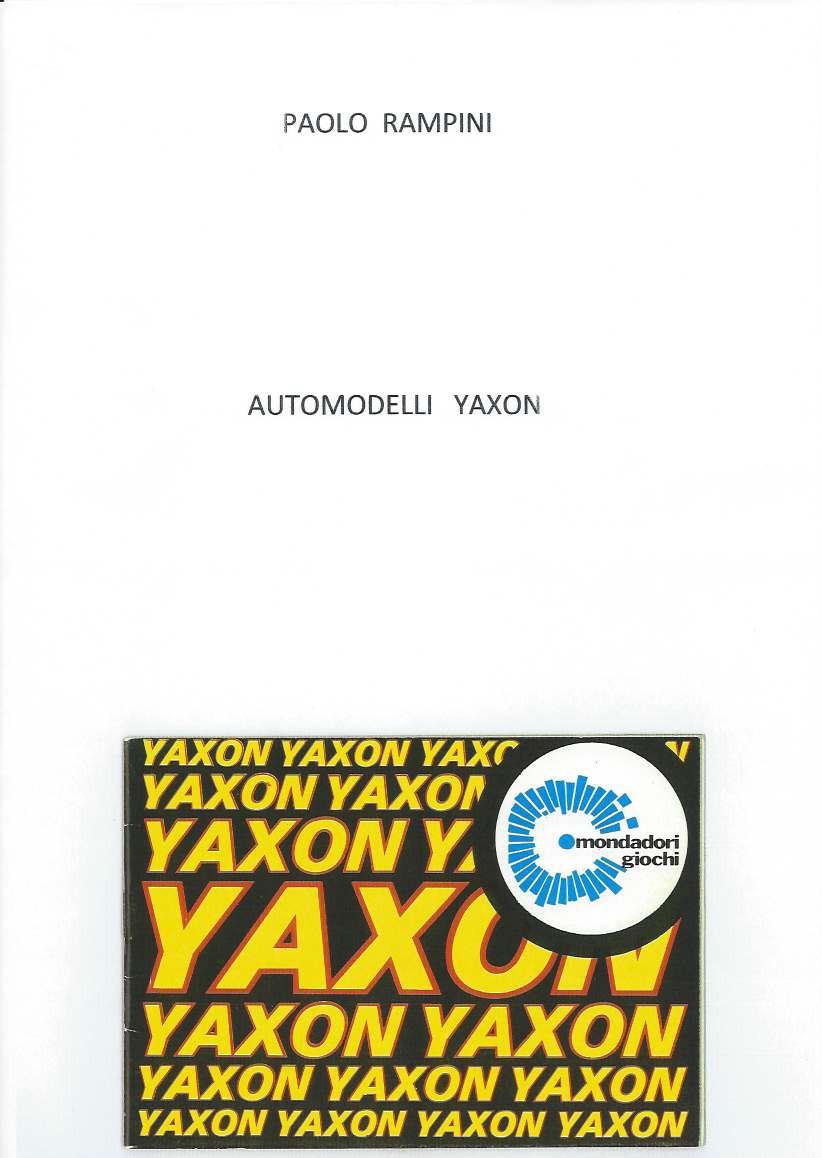 Automodelli Yaxon, Paolo Rampini, 2015
