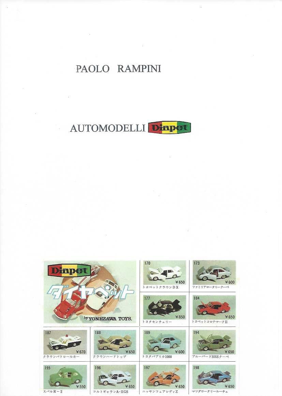 Automodelli Diapet, Paolo Rampini, 2015