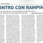 Incontro con Rampini (Modelli Auto, IV Trim. 2015)