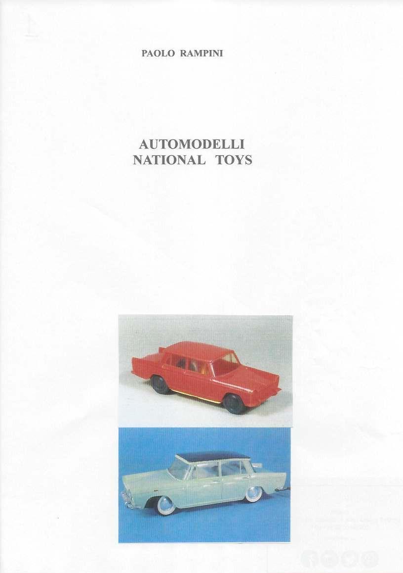 Automodelli NATIONAL TOYS, Paolo Rampini, 2017