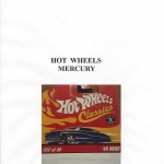 HOT WHEELS Mercury, Paolo Rampini, 2018